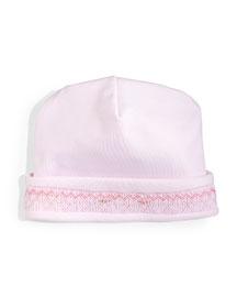 CLB Fall Bishop Pima Baby Hat, Pink