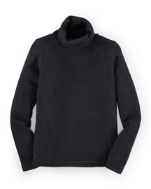 Long-Sleeve Turtleneck Top, Size 2-6X