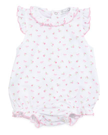 Rosy Pima Bubble Playsuit, Pink, Size 0-9 Months