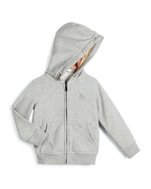 Pearce Hooded Fleece-Lined Sweater, Size 4-14