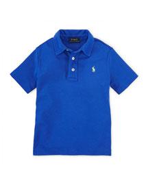 Short-Sleeve Pima Polo Shirt, Size 2-7