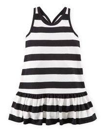 Sleeveless Striped Racerback Dress, Nevis, Size 2-6X