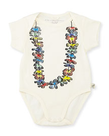 Cassidy Lei Knit Playsuit, Cream, Size 3-12 Months
