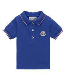 Maglia Tipped Pique Polo Shirt, Size 2-3