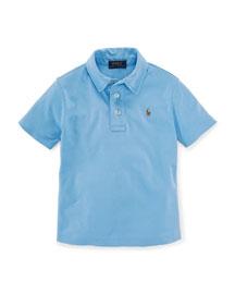 Short-Sleeve Cotton Polo Shirt, Size 2-7