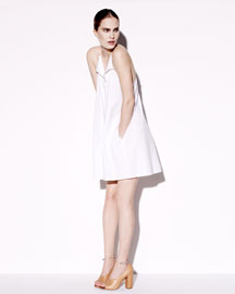 3.1 Phillip Lim Poplin Zip-Front Dress, 212 872 2843