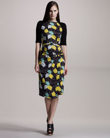 Proenza Schouler Floral-Print Dress