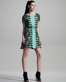 Kelly Wearstler Numa Silk Dress