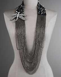 Vera Wang - Dragonfly Chain Necklace - Bergdorf Goodman