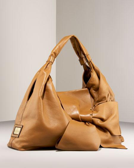 Premier Bow Shoulder Bag from bergdorfgoodman.com
