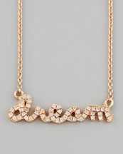 Sydney Evan Pave Diamond Dream Necklace