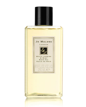 White Jasmine & Mint Bath Oil, 8.5 oz.