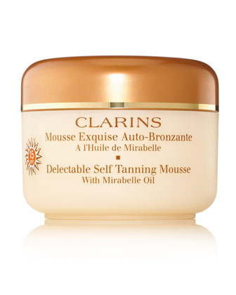 Delectable Self-Tanning Mousse SPF 15