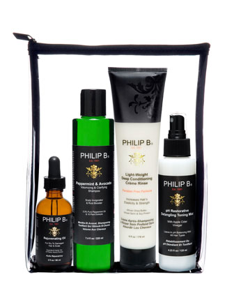 Four Step Hair & Scalp Treatment Set