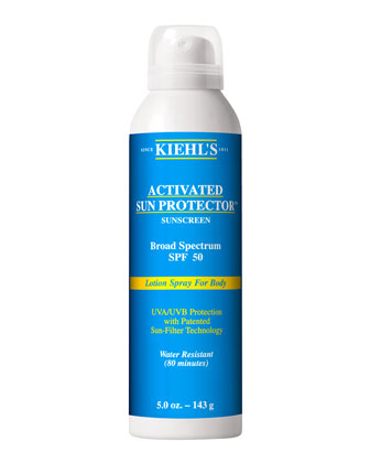Activated Sun Protector Spray For Body SPF50
