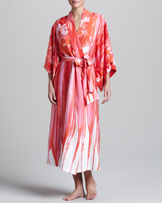 Thien Crepe-de-Chine Robe