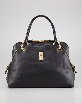 Rio Large Stud-Trim Satchel