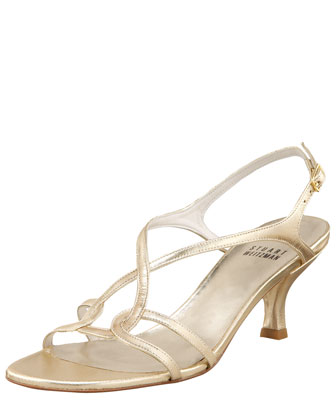 Sling Back Evening Sandal