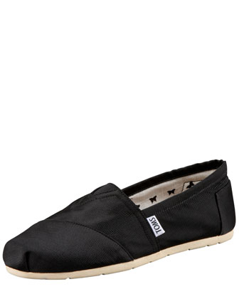 Grosgrain Slip-On, Black