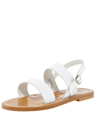 Double-Band Slingback Sandal