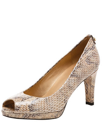 Logo Plainfield Peep-Toe Pump