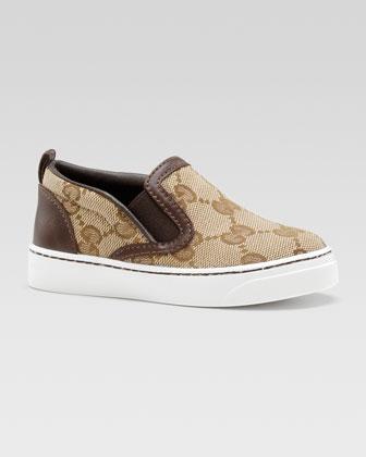 Board GG Slip-On Sneaker, Beige