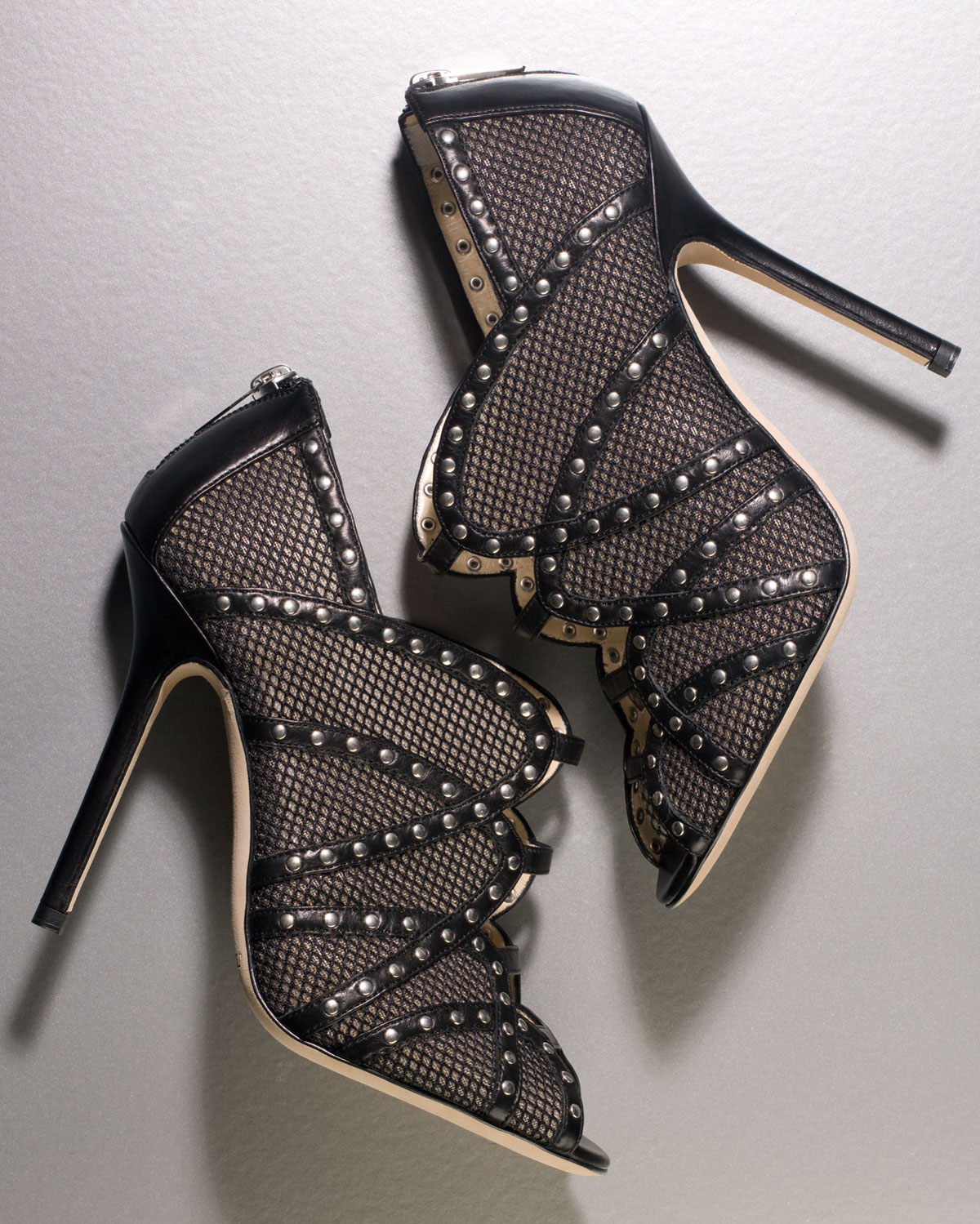 Mesh Bootie - Jimmy Choo - Bergdorf Goodman :  pretty tough bergdorf goodman ankle tonal